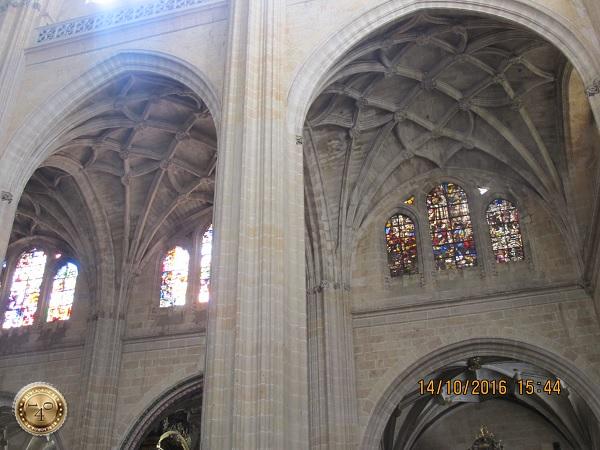 Витражи Кафедрального собора в Сеговии