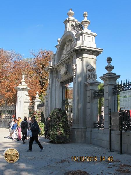 Ворота в парк Ретиро