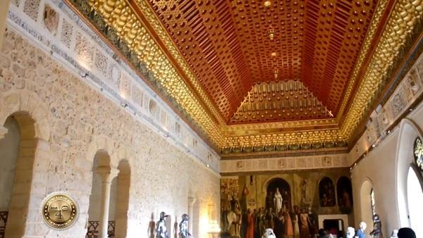 Потолок Зала Галеры
