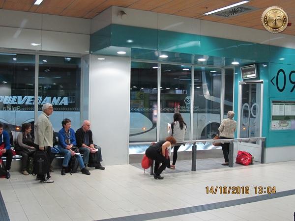 Зал ожидания на автовокзале