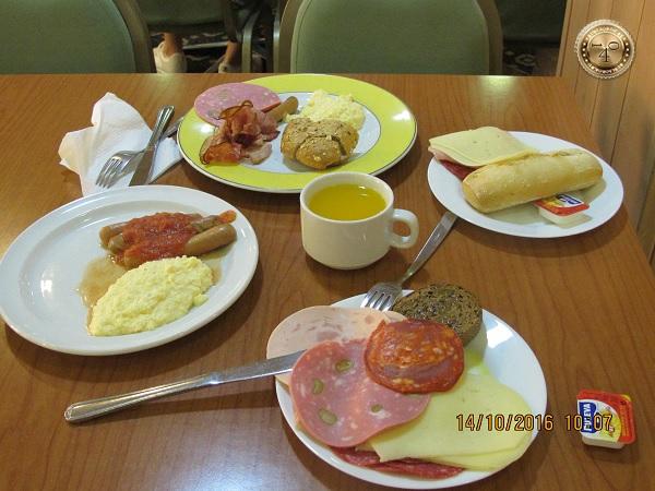 завтрак туриста по-испански