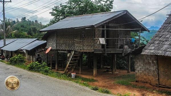 дом лаосского богача