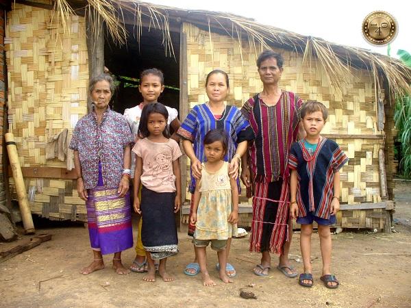 лаосская семья