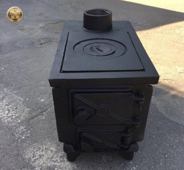 Чугунная печка