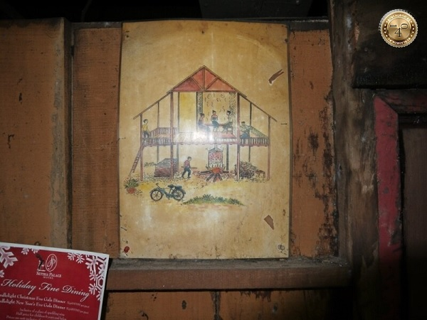 Разрез здания лаосской бани